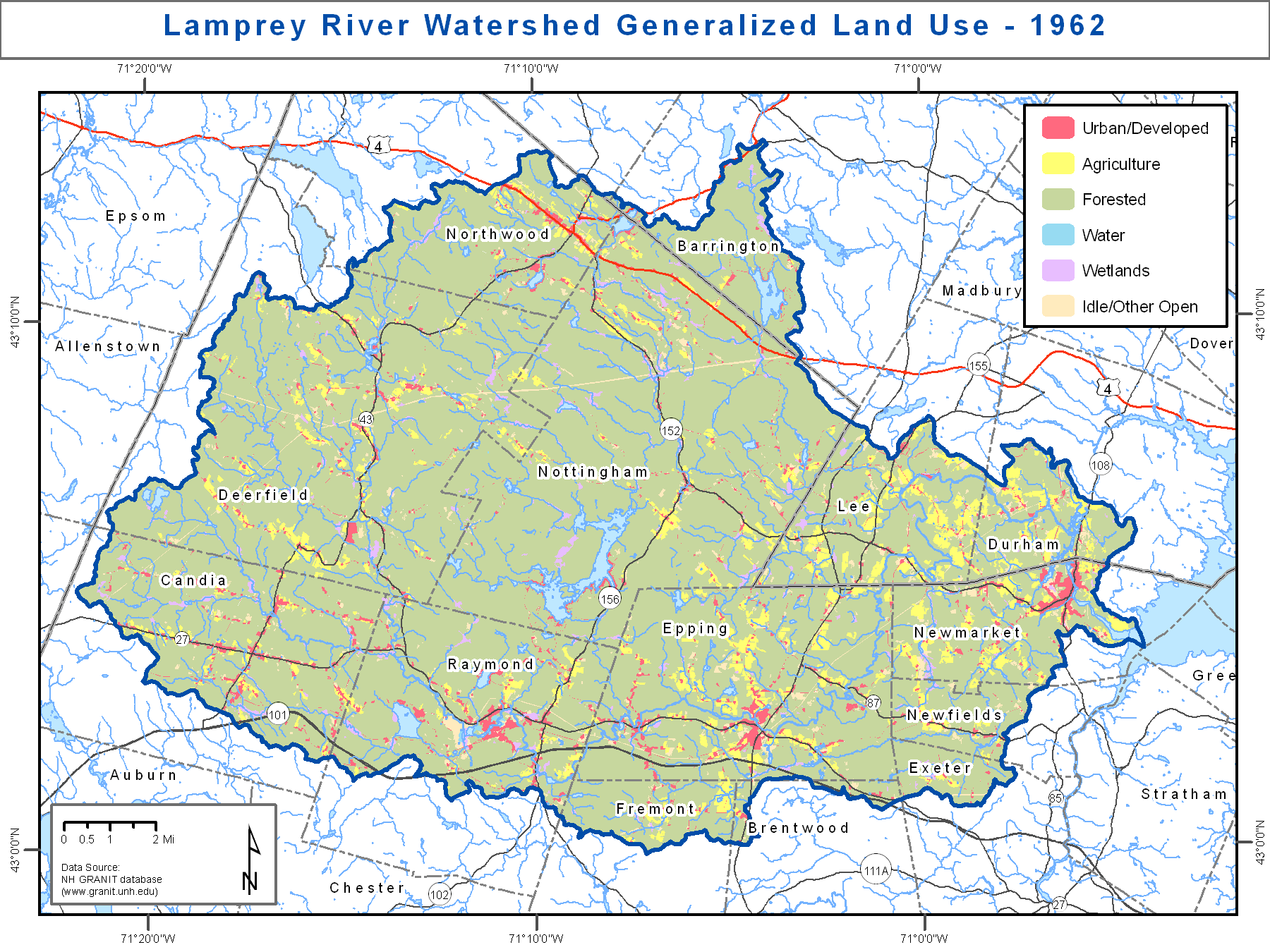 Maps Resources Lamprey River 100 Year Flood Risk Project